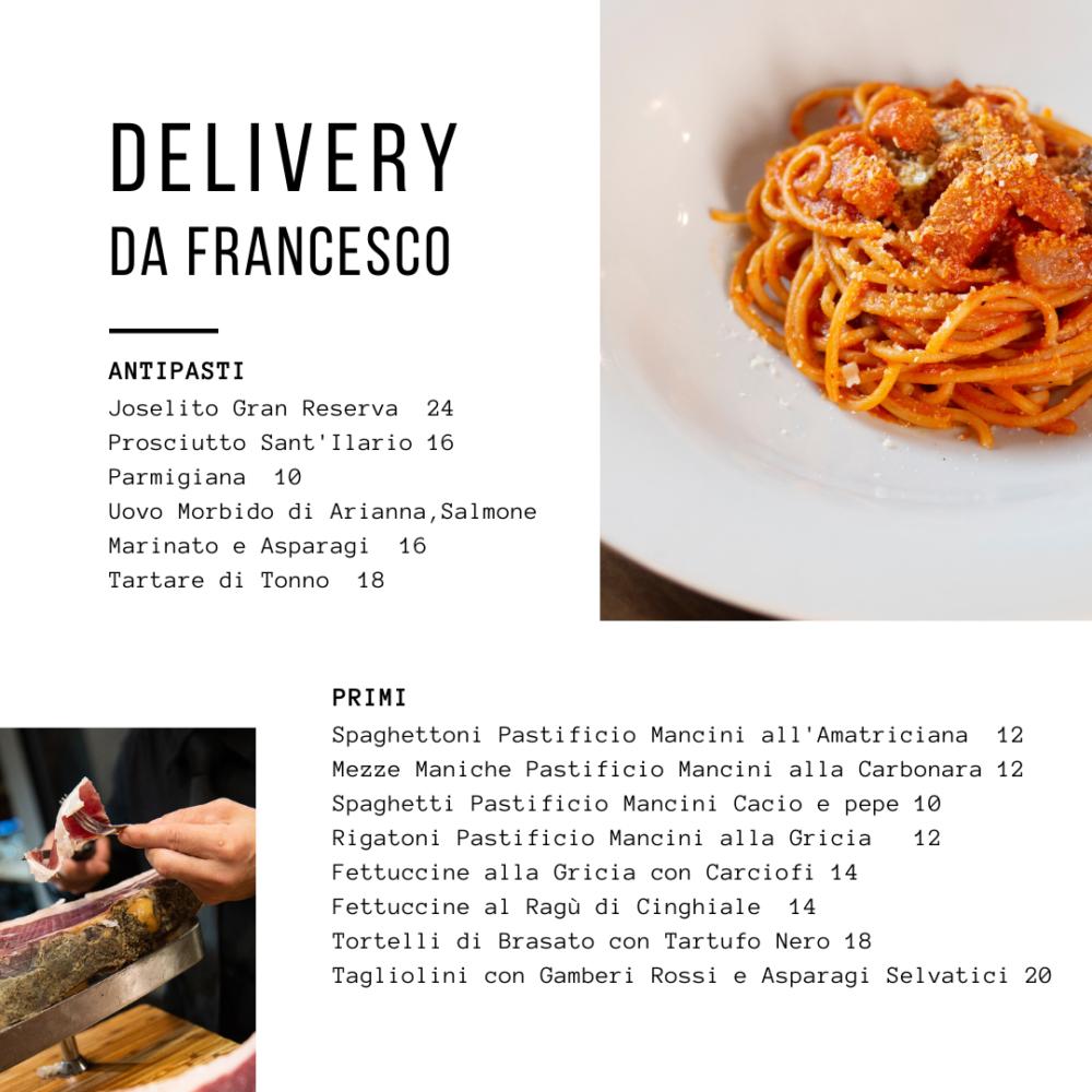 delivery da Francesco