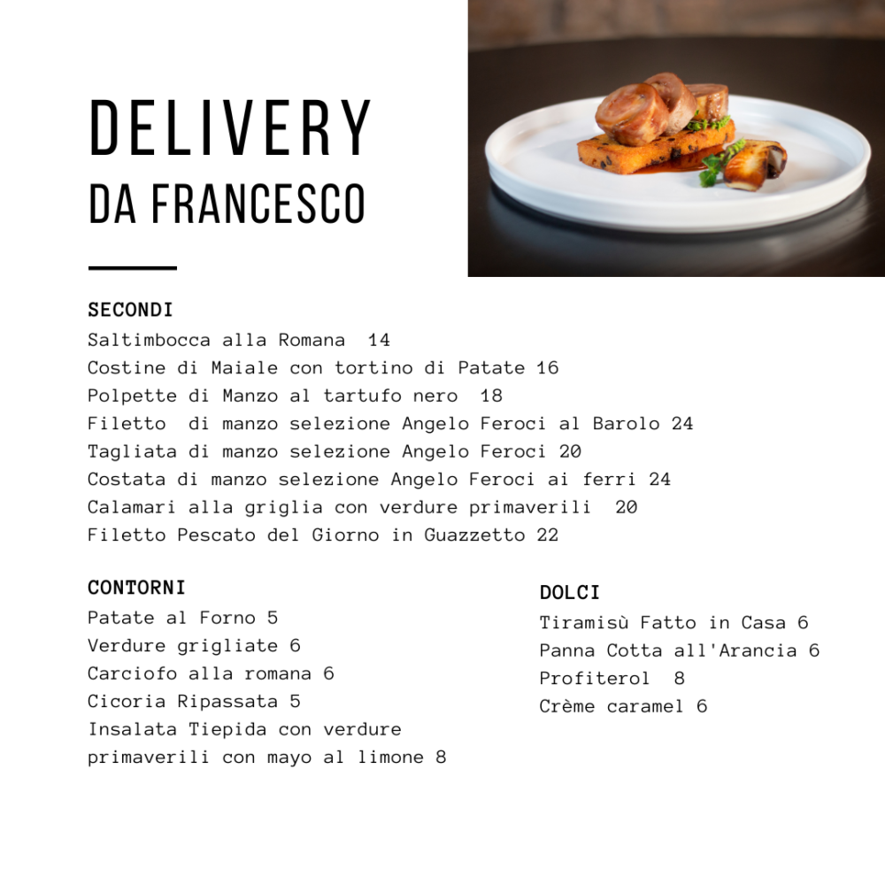 delivery Roma